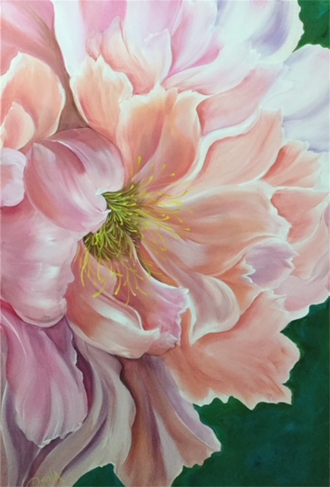 Oversize - Portrait of a Peony Downloadable Video Lesson