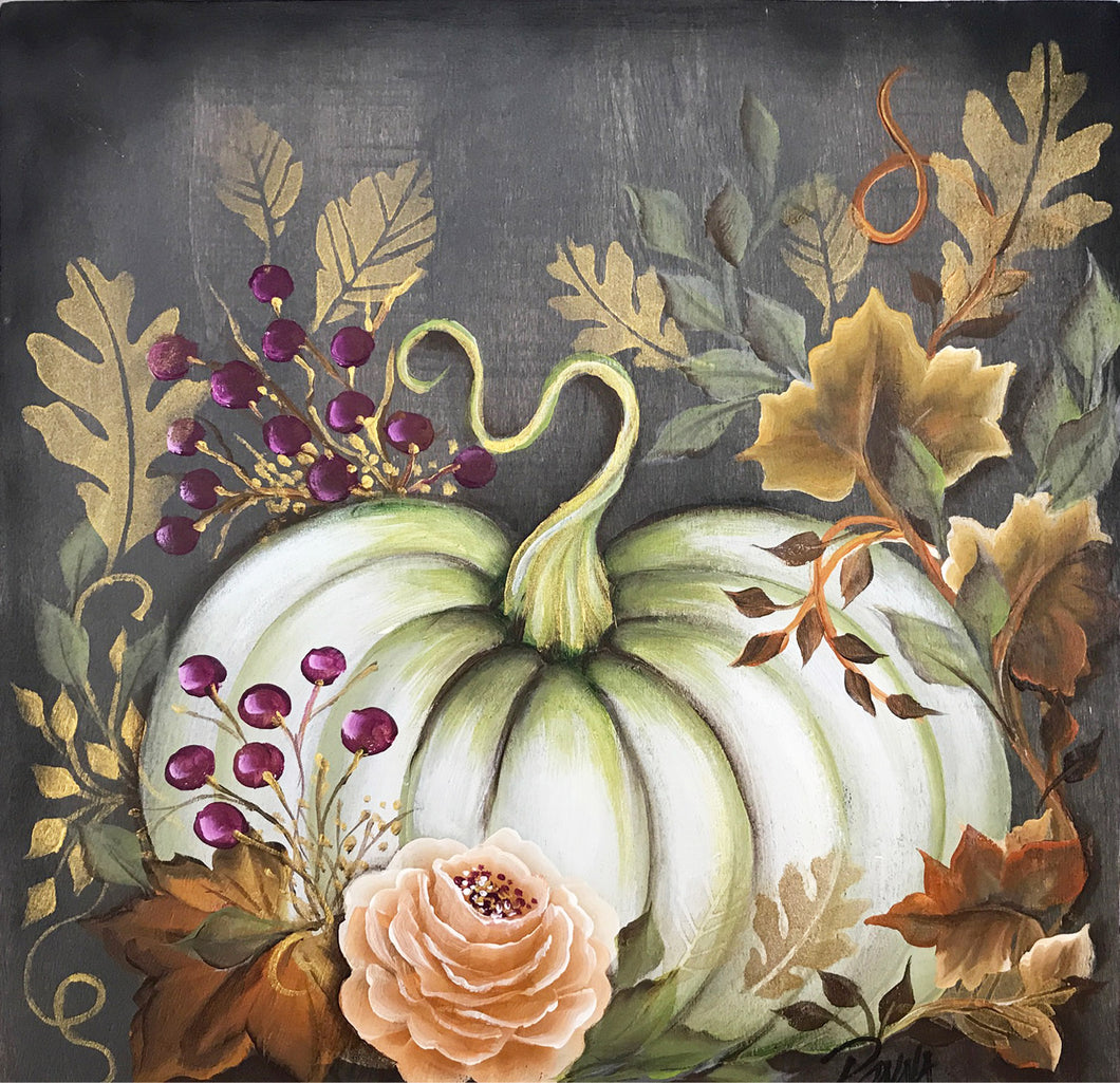 Elegant Pumpkin Flair Downloadable Video Lesson