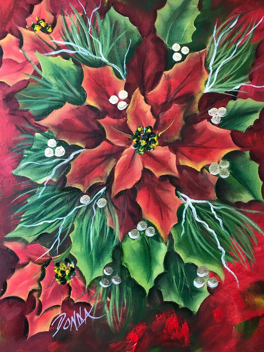 Pure AP Poinsettia Downloadable Video Lesson
