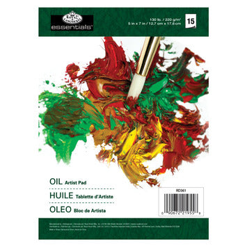 R361 5x7 Oil Color Paper Artist Pad