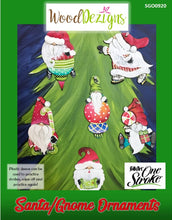 Santa/Gnome Ornaments WoodDezigns Packet