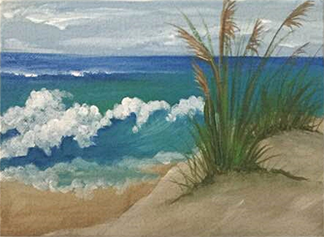 Mini Canvas - Seagrass Beachscape Course Video