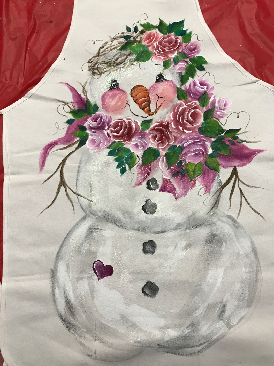 Snow Woman and Holiday Aprons Course Video