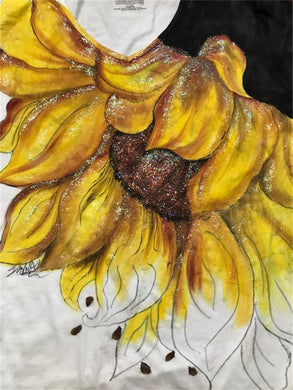 Fabric Painting - Sunflower Shirt Course Video