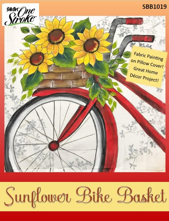 Sunflower Bike Basket