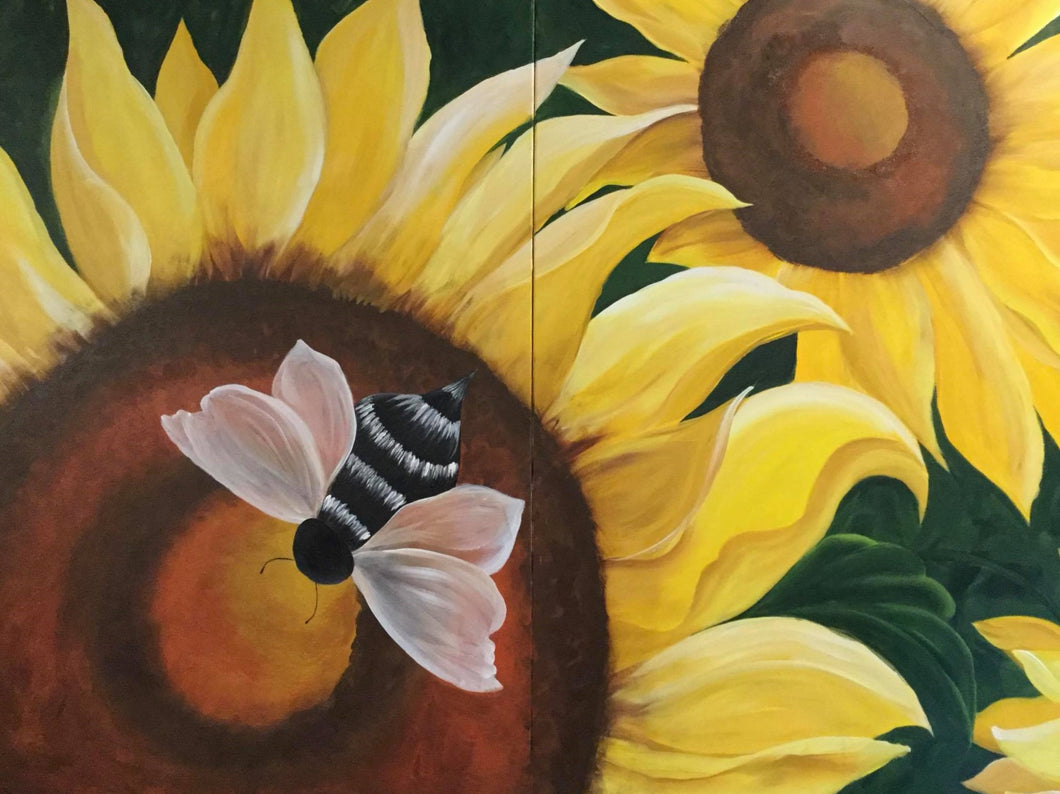 Sunflowers and Bee Course Video