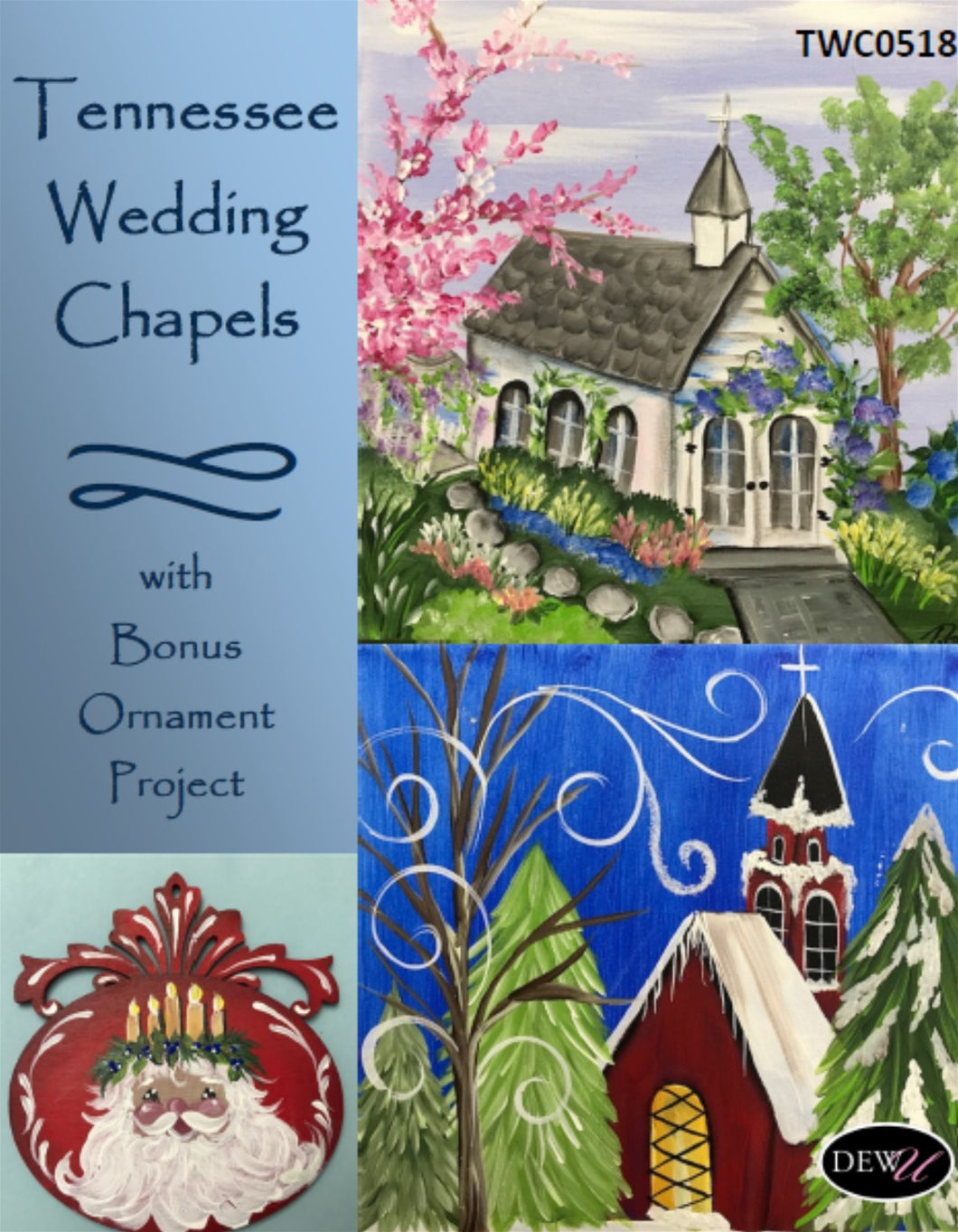 Tennessee Wedding Chapels and Bonus Ornament-PP