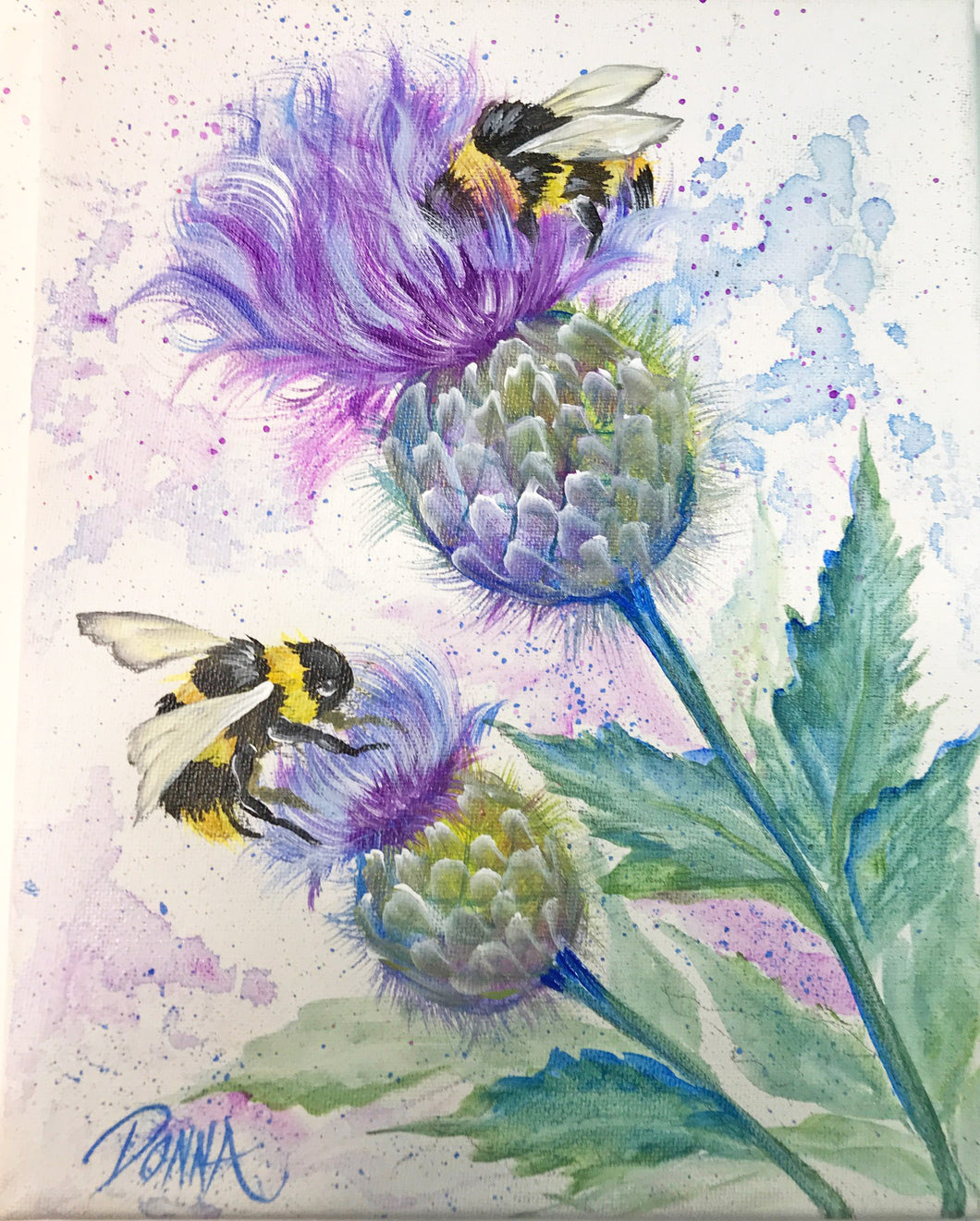 Thistles and Bees Downloadable Video Lesson