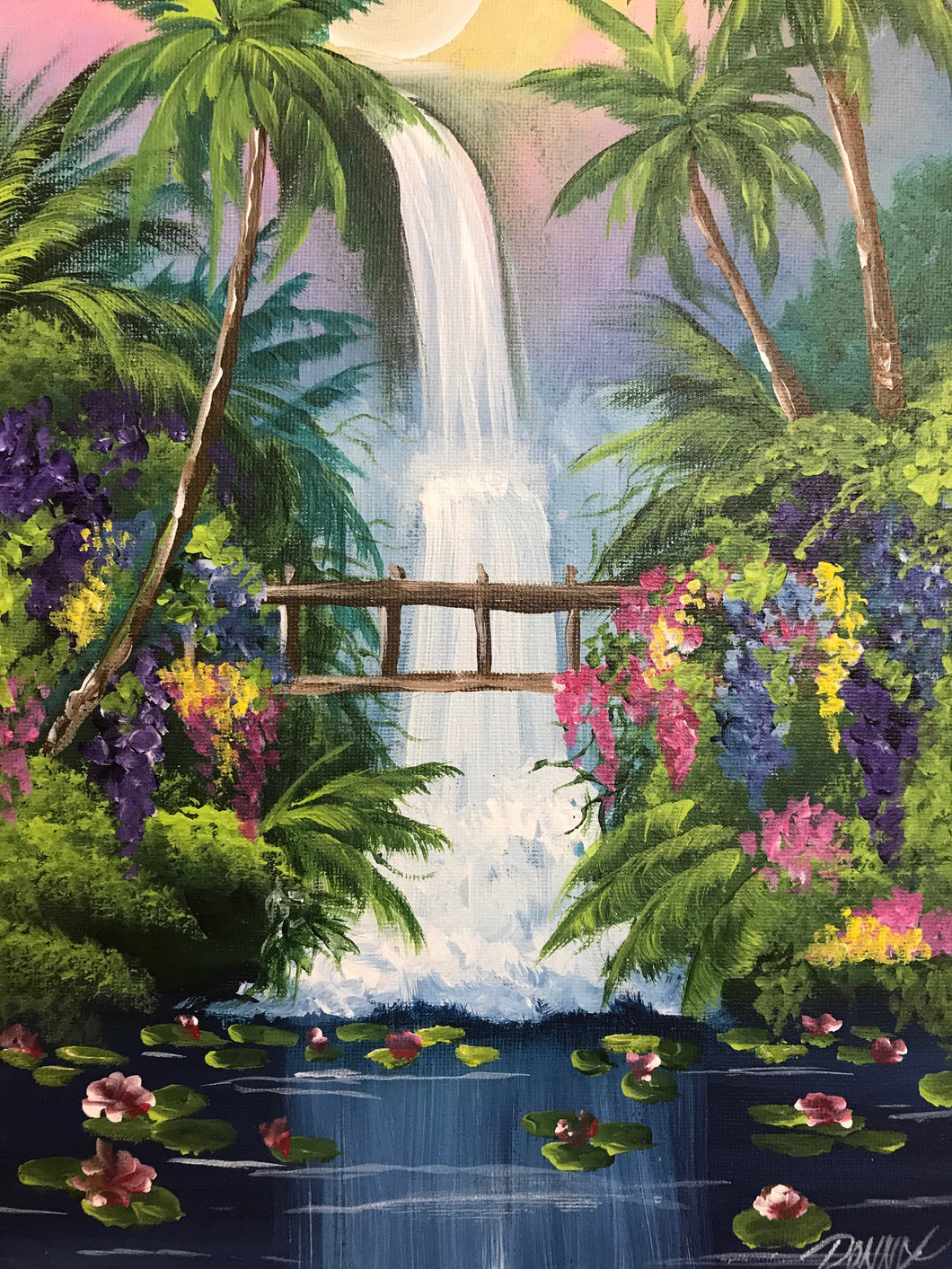 Tropical Waterfall Course Video