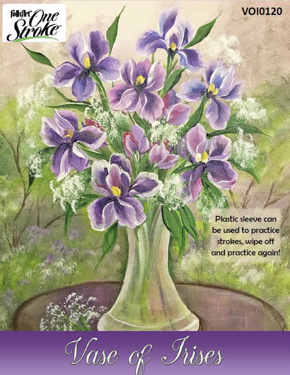 Vase of Irises Project Packet