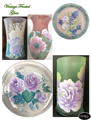 Vintage Frosted Glass-PP