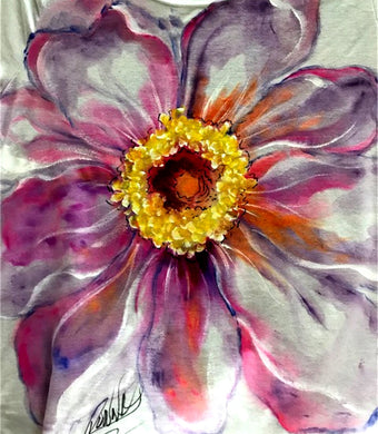 Fabric Painting - Watercolor Flower Shirt Course Video