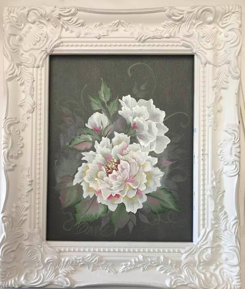 Flowers in White Series - Peonies Downloadable Video Lesson