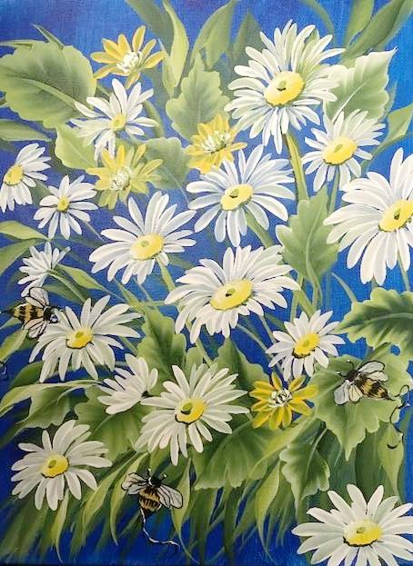 White Daisies Downloadable Video Lesson