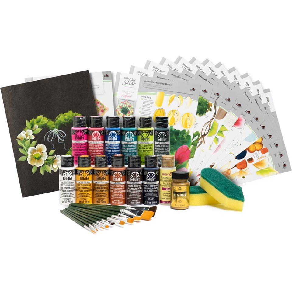 Wreath of the Month Kit - Let's Paint 2020 with Donna Dewberry