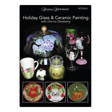 HGACPSDVD Holiday Glass & Ceramic Painting DVD