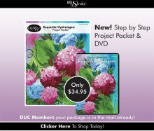 Exquisite Hydrangea Project Packet & DVD