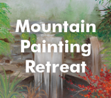 Mountain Painting Retreat - Nov 19-21, 2018, Tennessee - $298.00
