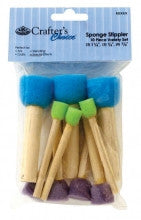 RD116  10 Piece Sponge Stippler Set
