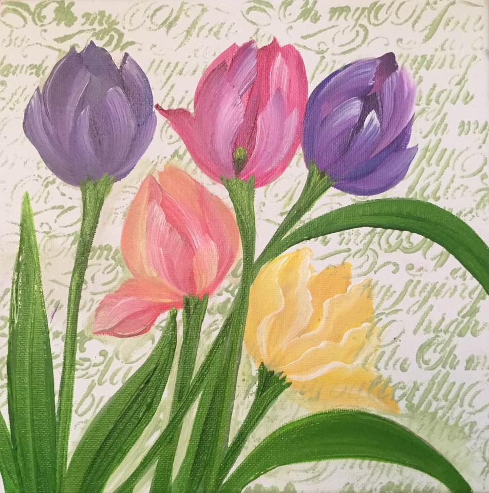 wOil Tulips Course Video