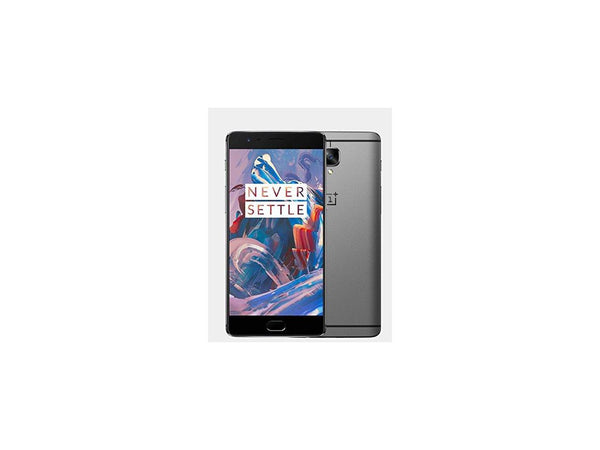 OnePlus Three 3 A3000 64gb Factory Unlocked - Black Gray Graphite