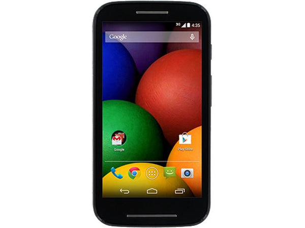 Tracfone Motorola Moto E Android Cell Phone with Triple Minutes for Life