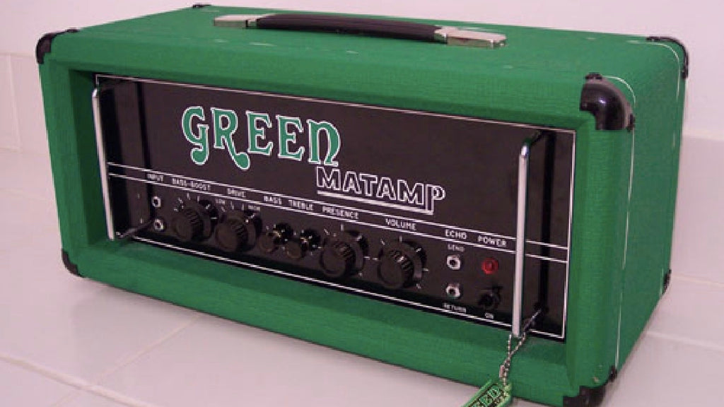 Backstage-Blog Classics - Matamp, Green, Orange and Stoner Rock
