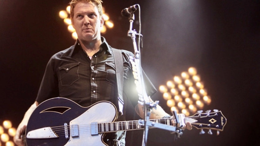 Josh Homme's pedals, amplifiers and guitars in the spotlight