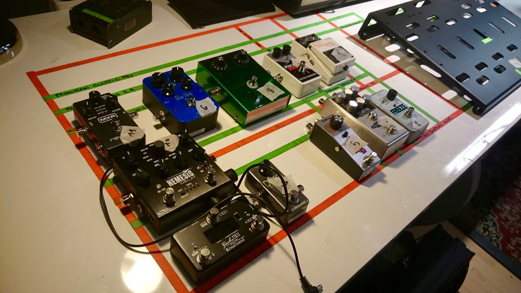 Planning your pedalboard - Custom Boards Finland