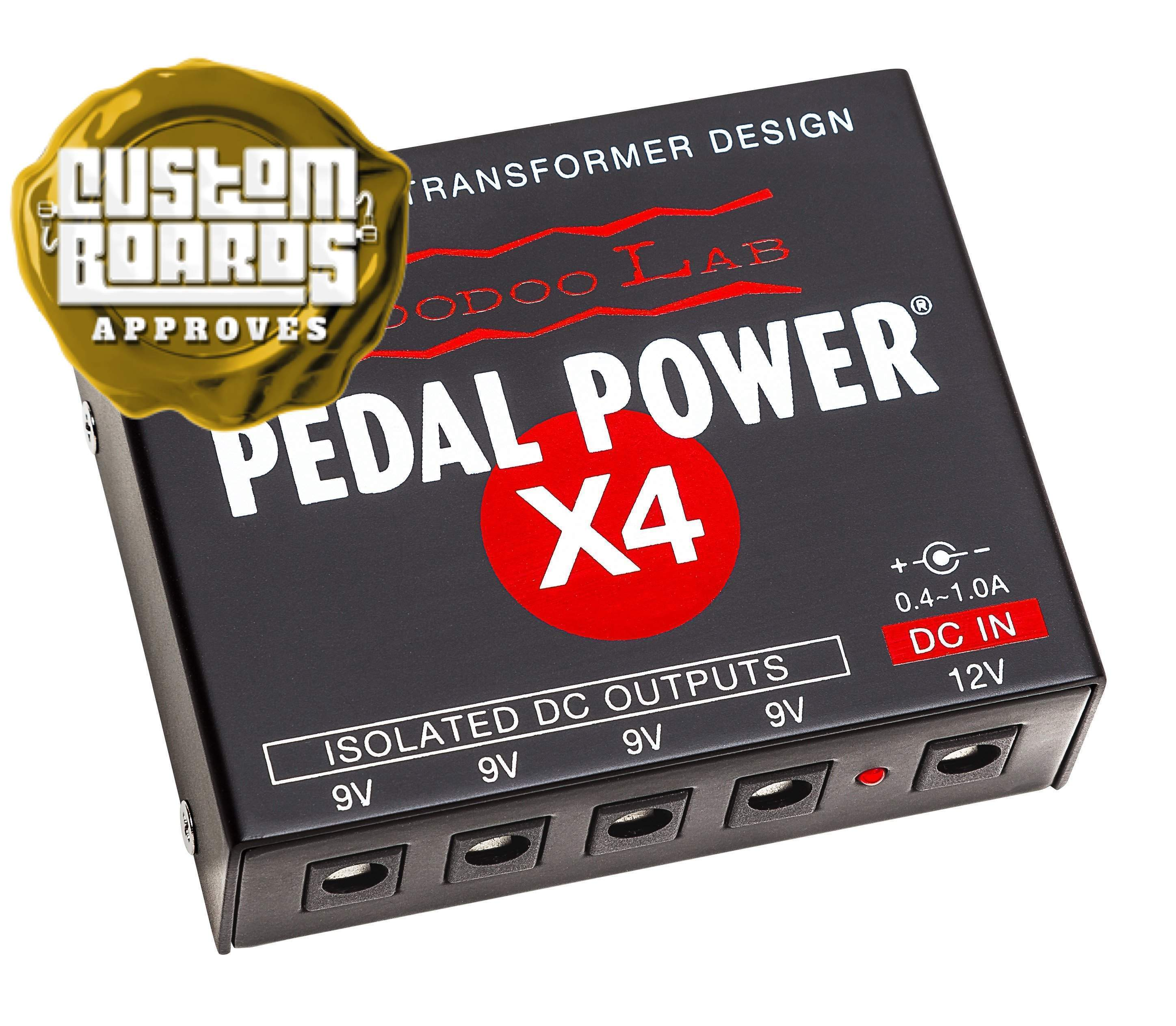 voodoo lab pedal power x4 isolated power supply custom boards finland. Black Bedroom Furniture Sets. Home Design Ideas