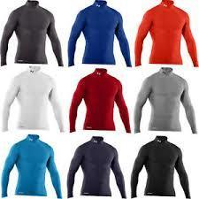 UA Cold Gear Gameday compression top. - jacquesmoreausports