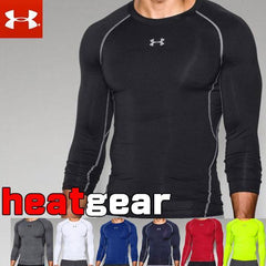 Under Armour, heat gear compression manche longue. - jacquesmoreausports