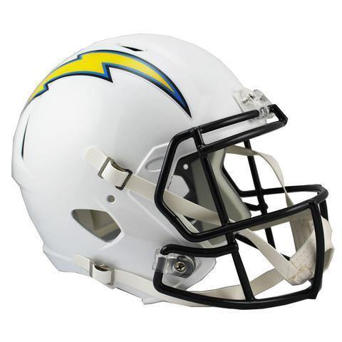 Mini casque de football San Diego Chargers. - jacquesmoreausports