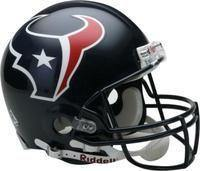 Mini casque de football Houston Texans.