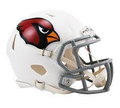 Mini casque de football réplique Arizona Cardinals.