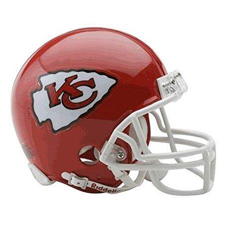 Mini casque de football réplique Kansas City Chiefs.