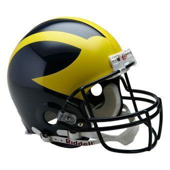 Casque réplique NCAA, Michigan Wolverines. - jacquesmoreausports