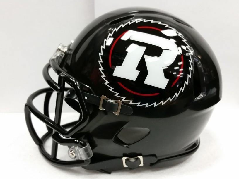 Mini casque de football Ottawa Red Blacks - jacquesmoreausports