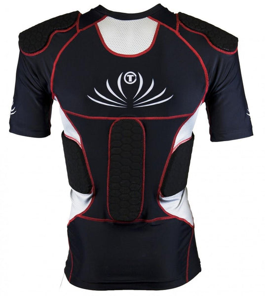 Tag ALT2CS adulte, chandail compression avec coussion de protections - jacquesmoreausports