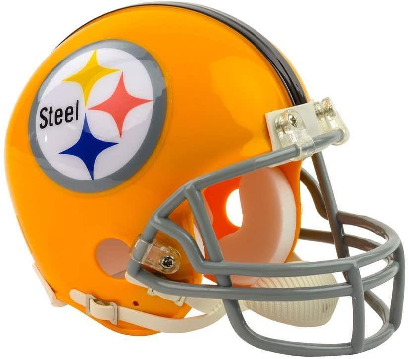 Sac mini casque replique throwback Steelers