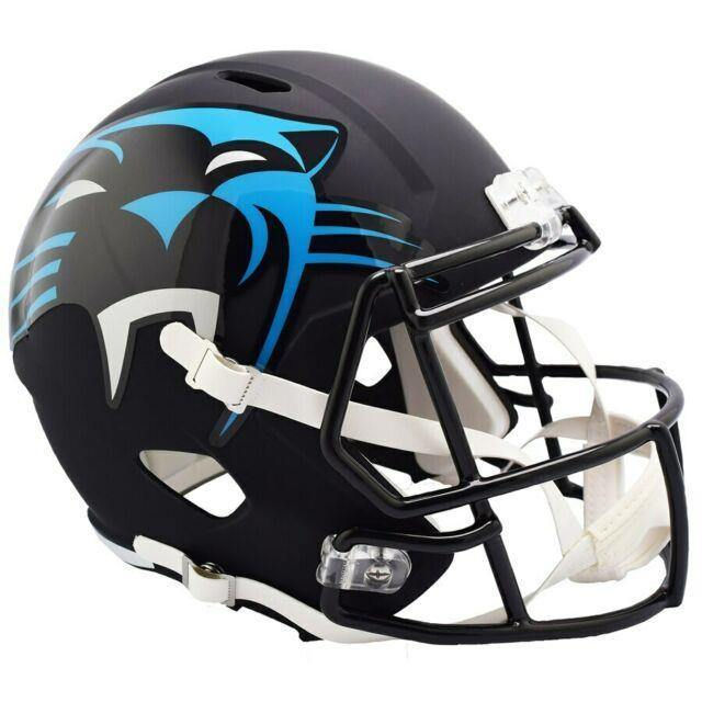 SAC mini casque NFL-AMP Carolina Panthers.