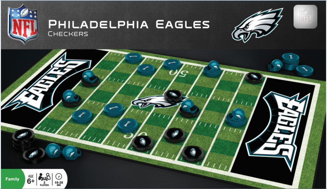 Sac Nfl Checkers Board/Jeu de Dame Eagles. - jacquesmoreausports