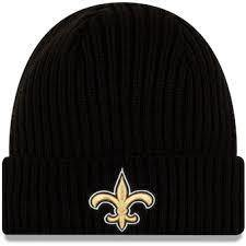 New Era Tuque - knit NFL Saints.