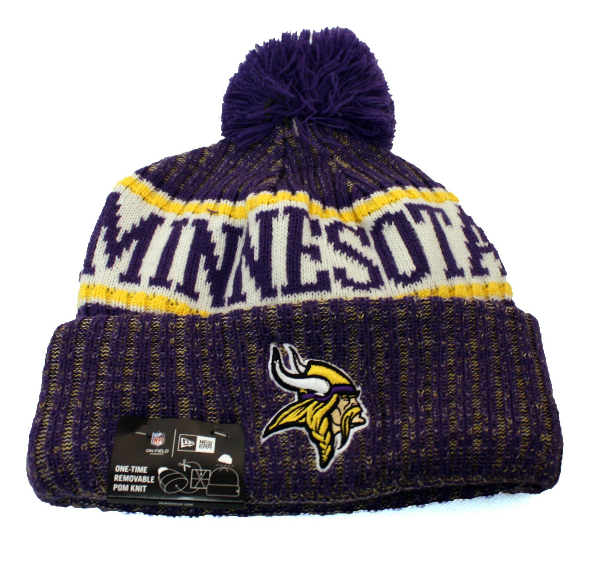 New Era - NFL knit / tuque Vikings.