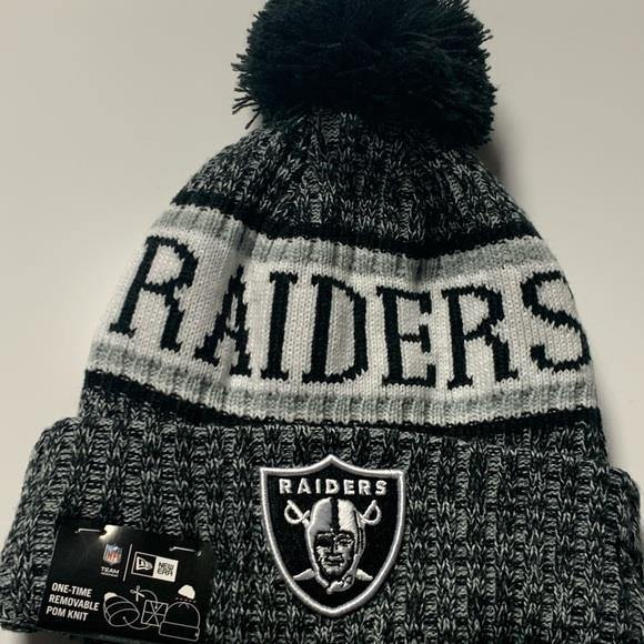 New Era - NFL knit / tuque Raiders.
