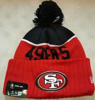 New Era Tuque - knit NFL 49ers.