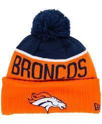 New Era Tuque - knit NFL Broncos.