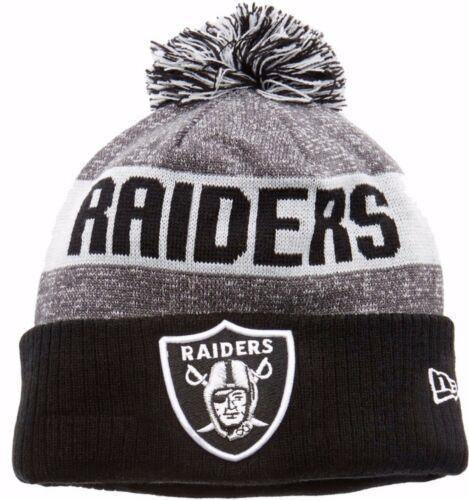 New Era Tuque - knit NFL Raiders.