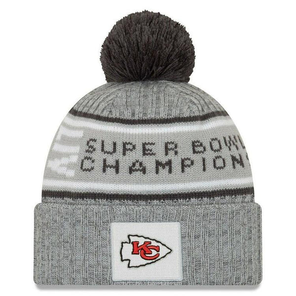 new era tuque super bowl champ. Chiefs.
