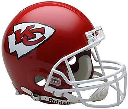 Nfl Full Size HelmetCasque VSR4 Chiefs. - jacquesmoreausports